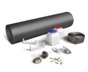 Комплект для заделки стыков труб ППУ